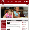 Sidney's New Homepage Design