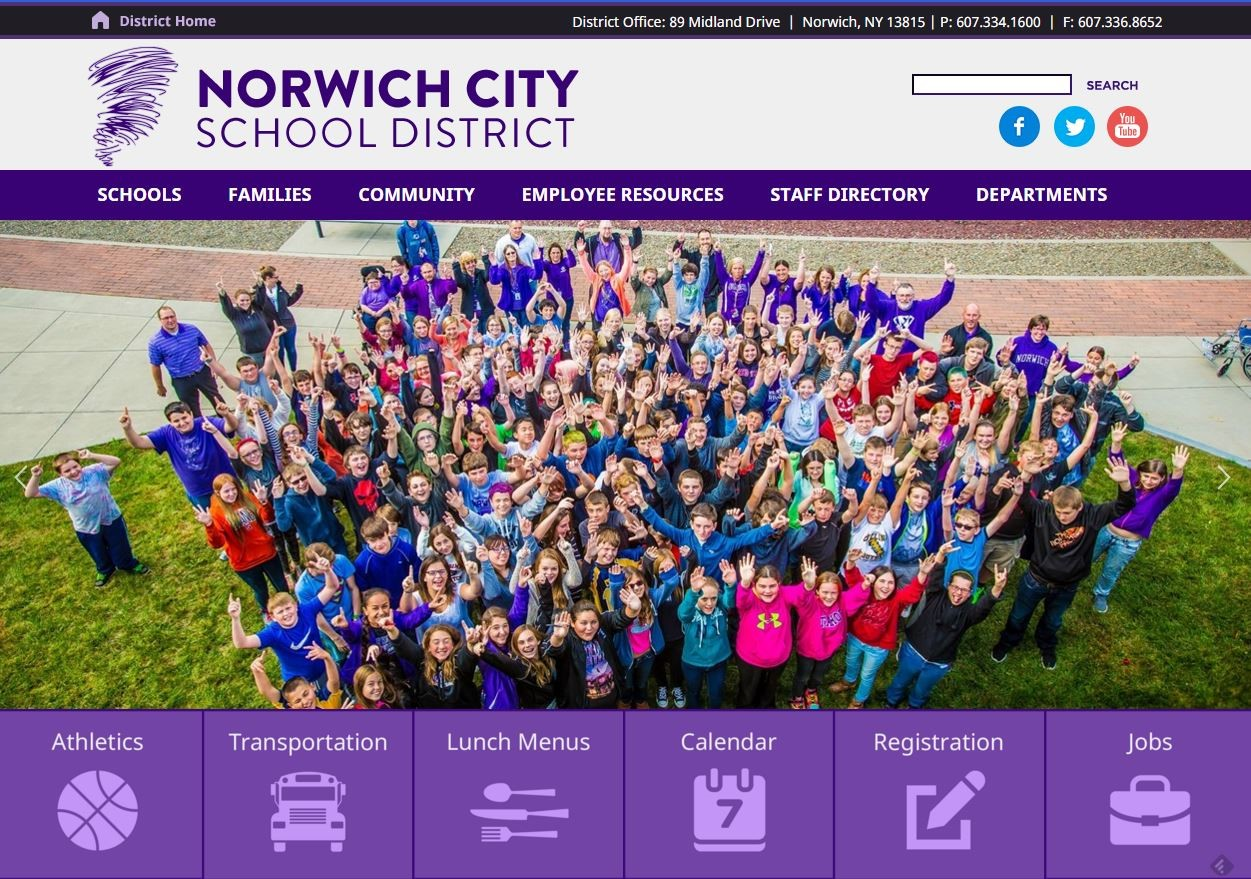 Norwich Central School District Homepage