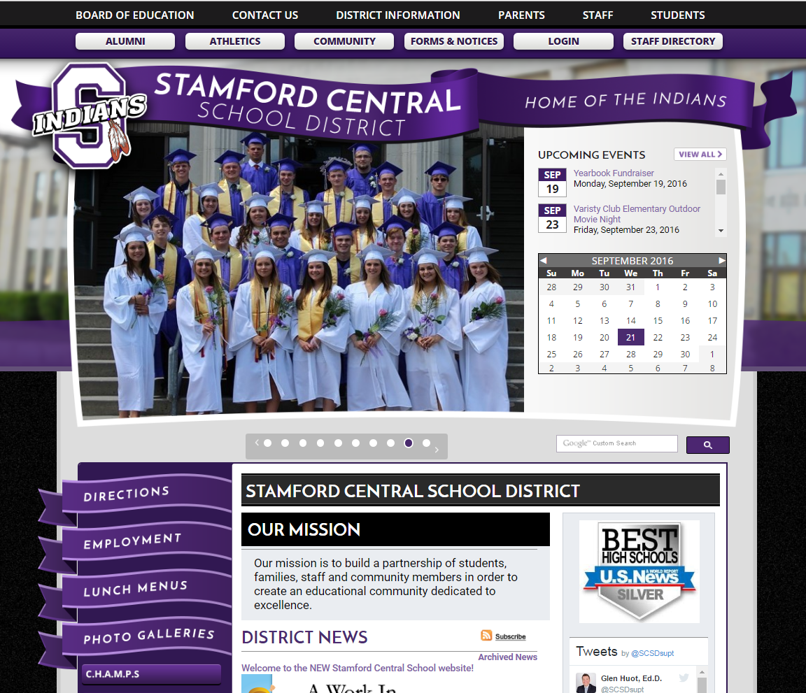 Stamford Central School District Homepage